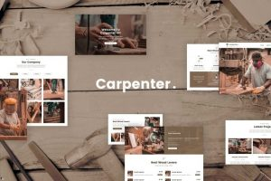 ejemplo diseño web wordpress portfolio web carpinteros