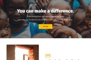ejemplo diseño web wordpress portfolio web ongs y organizaciones beneficas