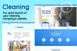 ejemplo diseño web wordpress portfolio web empresas limpieza