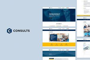 ejemplo diseño web wordpress portfolio web asesores gestores contables
