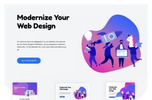 ejemplo diseño web wordpress portfolio web marketing