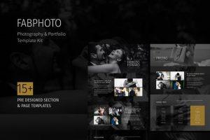 ejemplo diseño web wordpress portfolio web fotografos