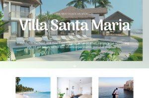ejemplo diseño web wordpress portfolio web hoteles apartamentos casas rurales