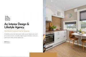 ejemplo diseño web wordpress portfolio web decoradores interioristas