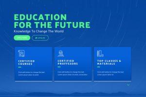 ejemplo diseño web wordpress portfolio web academias profesores centros estudio