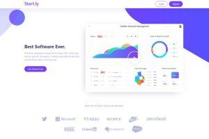 ejemplo diseño web wordpress portfolio web startups nuevas empresas
