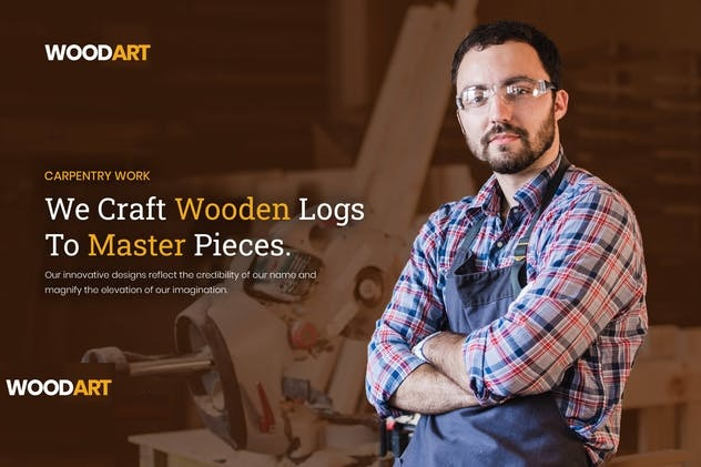 ejemplo diseño web wordpress portfolio web artesanos