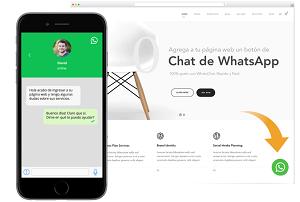 whatsapp chat incluido en pagina web soporte tecnico