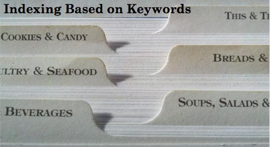 Indexación basada en palabras clave