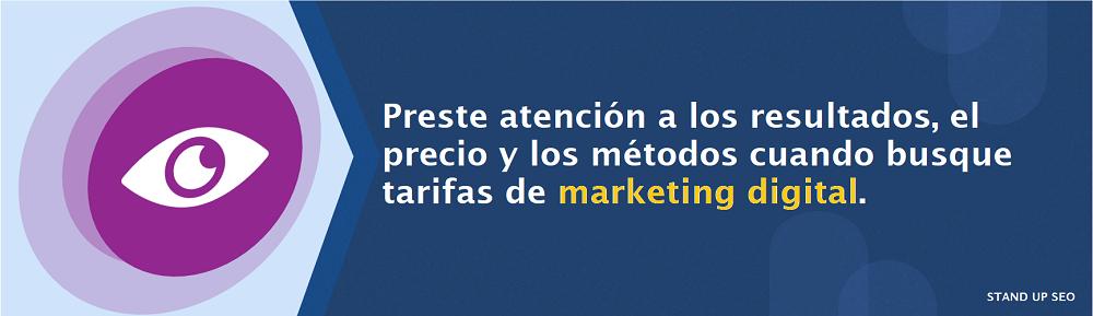 costos del marketing online