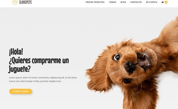 Portfolio de ecommerce de Mascotas
