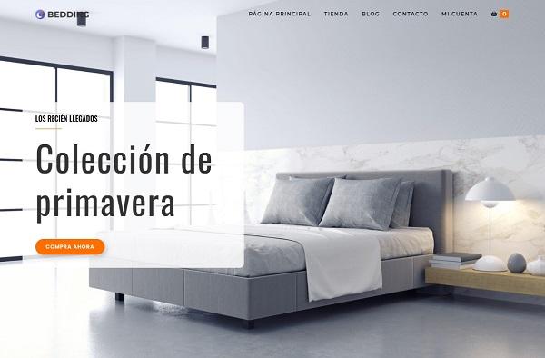 Diseño de ecommerce de Muebles