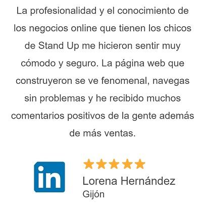 Opiniones de clientes de Stand Up Diseño Web Huelva