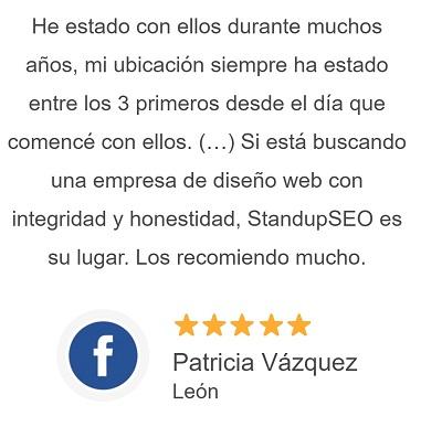 Opiniones de clientes de Stand Up Diseñador Web Huelva
