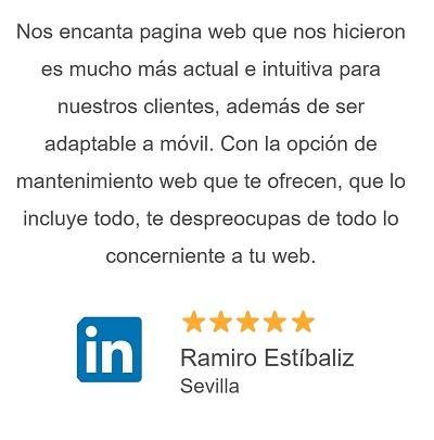 Opiniones de clientes de Stand Up Diseñador Pagina Web Huelva