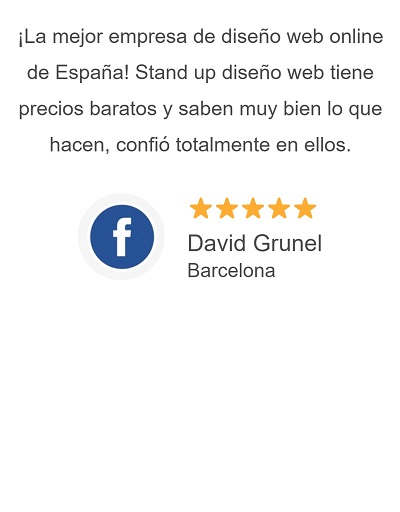 Opiniones de clientes de Stand Up Desarrollo Web Huelva